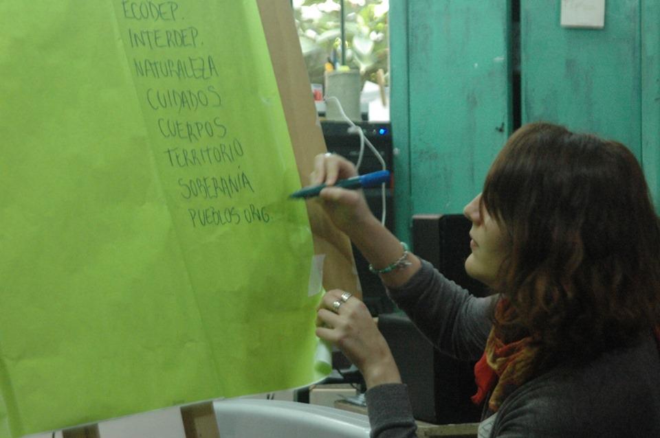 Encuentro-Taller Ecofeminista
